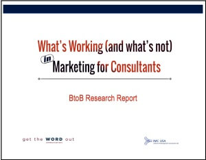 Marketing for Consultants Report-cover